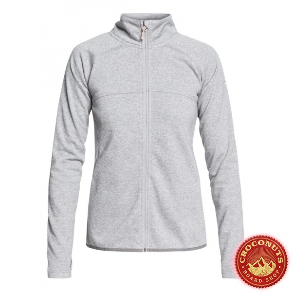 Midlayer Roxy Harmony Shimmer Warm Heather Grey 2019