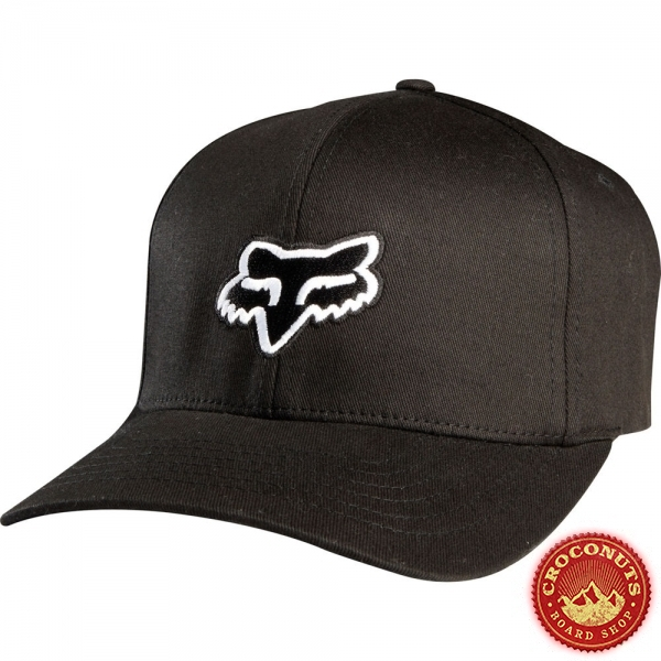 Casquette Fox Legacy Flexfit Black 2019