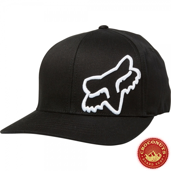 Casquette Fox Flex 45 Black White 2019