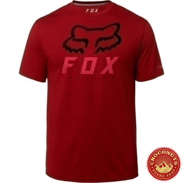 Tee Shirt Fox Heritage Forger Red 2019