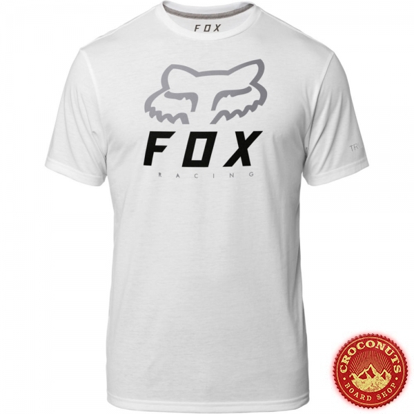 Tee Shirt Fox Heritage Forger White 2019
