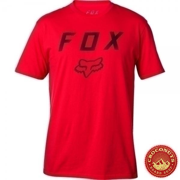 Tee Shirt Fox Legacy Moth Dark Red 2019