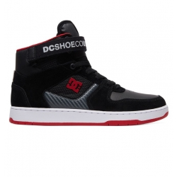 Shoes DC Shoes Pensford Black Dark Grey Athletic Red 2019 pour homme