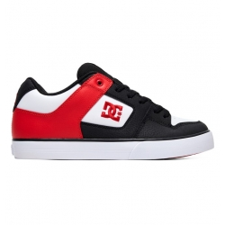 Shoes DC Shoes Pure Black Atlhetic Red Black 2019 pour homme