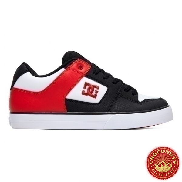 Shoes DC Shoes Pure Black Atlhetic Red Black 2019