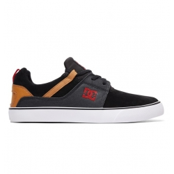 Shoes DC Shoes Heathrow Vulc Black Camel 2019 pour homme