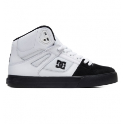 Shoes DC Shoes Pure High Top White Black 2019 pour homme
