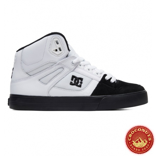 Shoes DC Shoes Pure High Top White Black 2020