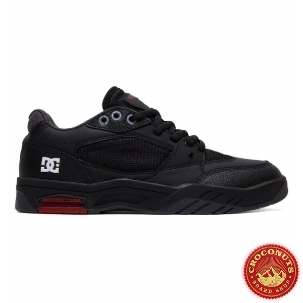 Shoes DC Shoes Maswell Black White True Red 2019