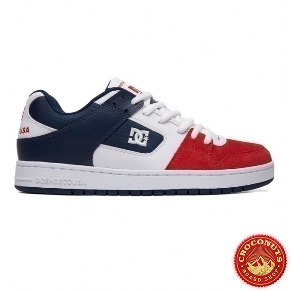 Shoes DC Shoes Manteca White Navy Red 2019