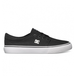 Shoes DC Shoes Trase TX Black White 2019 pour homme
