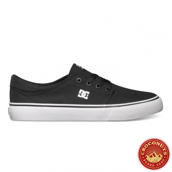 Shoes DC Shoes Trase TX Black White 2020