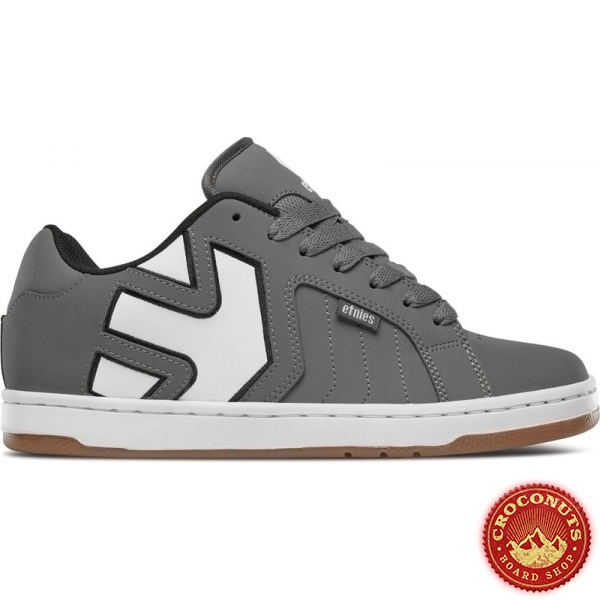 Shoes Etnies Fader 2 Grey White 2019
