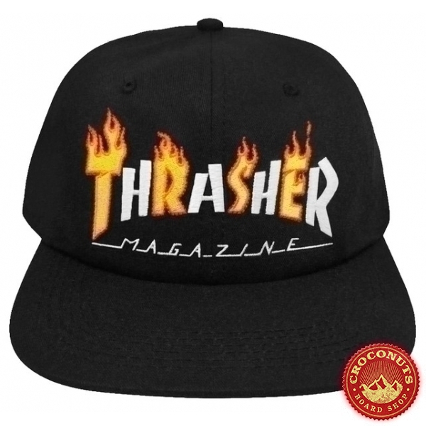 Casquette Thrasher Flame Mag Snapback 2019