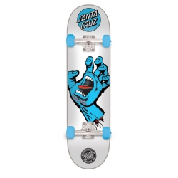 Skate Complet Santa Cruz Screaming Hand White 2019 pour homme