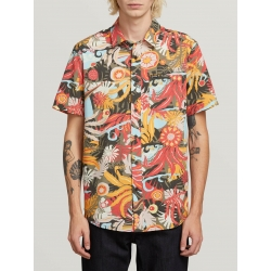 Chemise Volcom Psych Floral Army 2019 pour homme