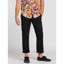 Chino Volcom Frickin Modern Strectch Black 2019 pour homme