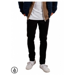 Denim Volcom Vorta Tapered Blackout 2019 pour homme