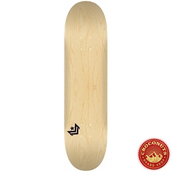 Deck Mini Logo Chevron Natural 8.25 2019