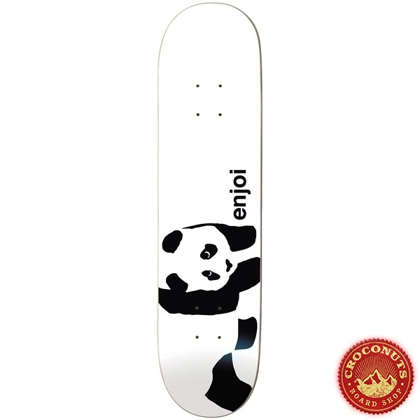 Deck Enjoi Panda Logo White 8.125 2020