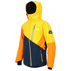 Veste Picture Alpin Dark Blue Yellow 2020 pour homme