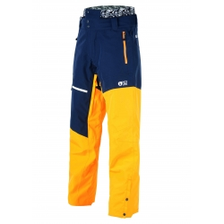 Pantalon Picture Alpin Dark Blue Yellow 2020 pour homme