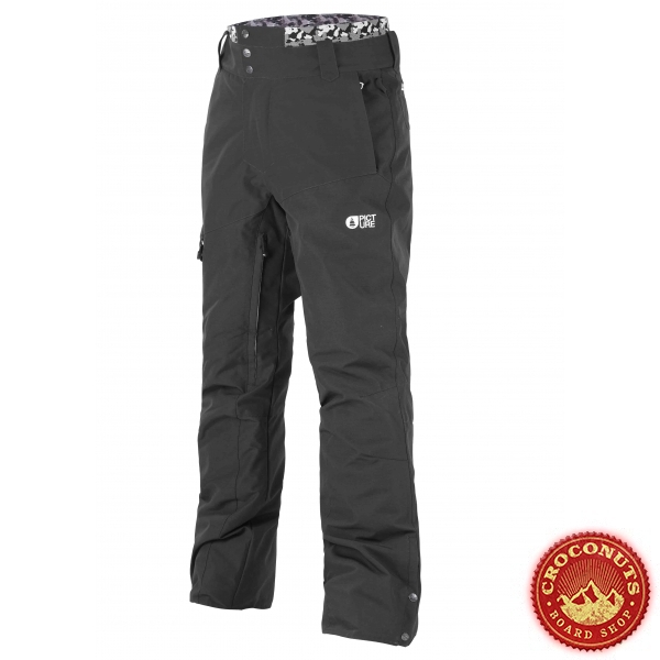 Pantalon Picture Panel Black 2021