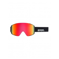 Masque Anon Sync Black Sonar Red  2020 pour homme