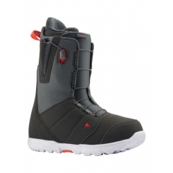 Boots Burton Moto Gray Red 2020 pour homme