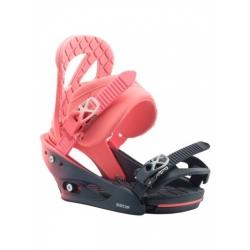 Fixations Burton Stiletto RE:Flex Pink Fade 2020 pour femme, pas cher