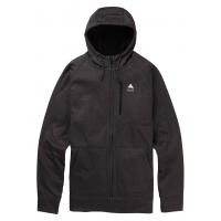 Fleece Burton Crown Bonded True Black Heather 2020