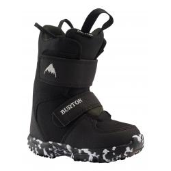 Boots Burton Mini Grom Black 2021 pour enfant, pas cher