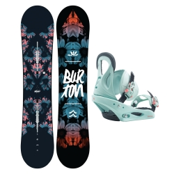 Pack Burton Stylus + Burton Citizen Blue 2020 pour femme, pas cher