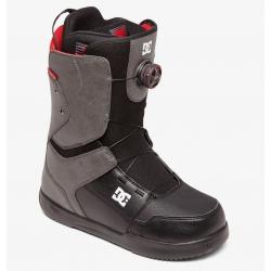 Boots DC Shoes Scout BOA Grey Black 2020 pour homme, pas cher