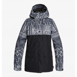 Veste DC Shoes Cruiser Black Mud Cloth Print 2020 pour femme, pas cher