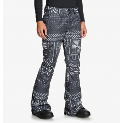 Pantalon DC Shoes Recruit Black Mud Cloth Print 2020 pour femme, pas cher