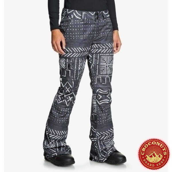 Pantalon DC Shoes Recruit Black Mud Cloth Print 2020
