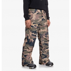 Pantalon DC Shoes Code Olive Night Vintage Camo 2020 pour homme