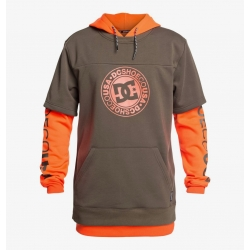 Fleece DC Shoes Dryden Shocking Orange 2020 pour homme, pas cher