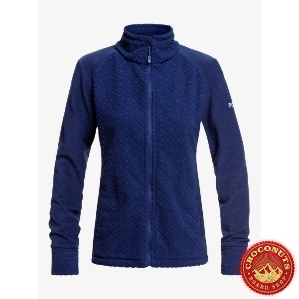 Fleece Roxy Surface Medieval Blue 2020