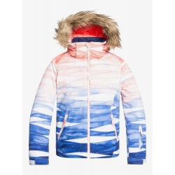 Veste Roxy Jet Ski SE Girl Mid Denim 2020 pour enfant, pas cher