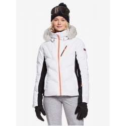 Veste Roxy Snowstorm Bright White 2020 pour femme, pas cher