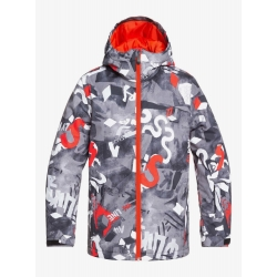 Veste Quiksilver Mission Printed Youth Poinciana Giantforce 2020 pour enfant, pas cher