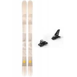 Pack skis Line Honey Badger + Fixations Marker Squire 11 2020 pour homme