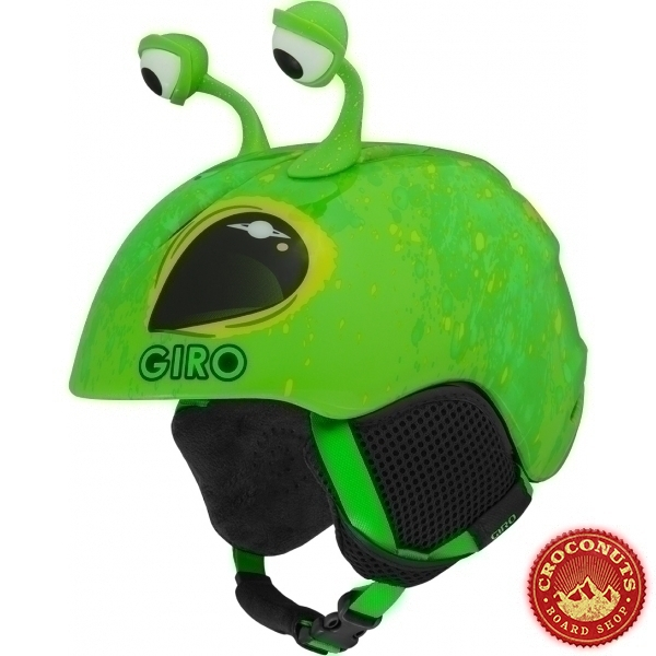 Casque Giro Launch Plus Bright Green Alien 2020