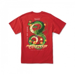 Tee Shirt Primitive X Dragon Ball Z Shenron Dirty Red 2020 pour homme