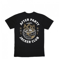Tee Shirt Jacker Ashtray World Black 2020 pour homme, pas cher