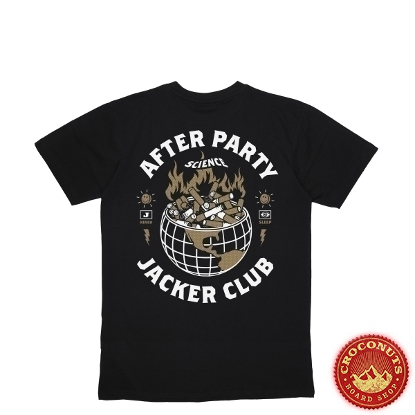 Tee Shirt Jacker Ashtray World Black 2020