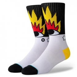 Chaussettes Stance Foundation Fire and Eyes 2020 pour homme