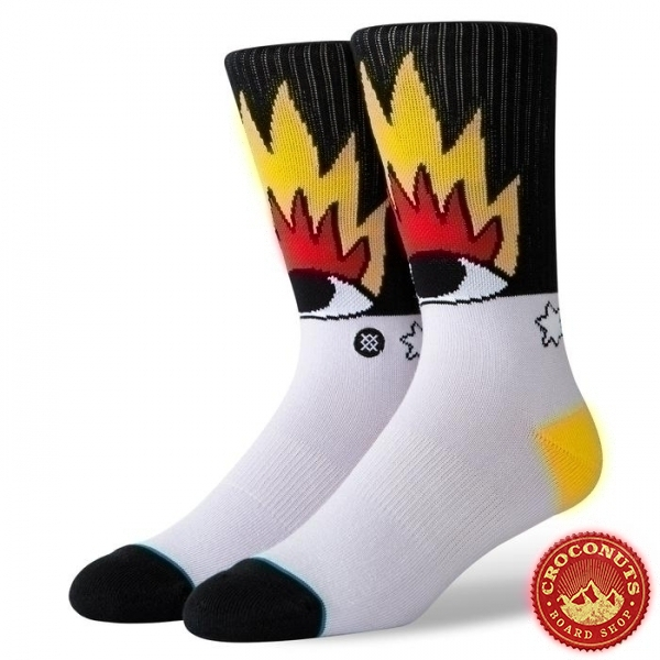 Chaussettes Stance Foundation Fire and Eyes 2020